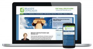 Brandy Gonzales Legal Website
