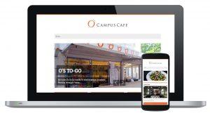 O's Campus Cafe Website